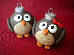 Owl Christmas Ornaments