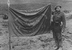 Caucasus WWII - romanian soldier with captured russian flag, pin by Paolo Marzioli Armed Forces, World War Ii, Romania, Troops, Wwii, Germany, Army, Military, Tanks