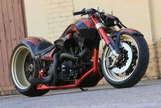 "Tuning Harley-Davidson V-Rod ""The one"" - Custom"