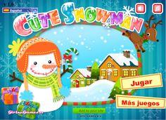 Actividades para Educación Infantil: Hacemos un muñeco de nieve