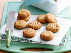 Perfect biscuits of gingernut baked to perfection. Watch them go at afternoon tea!