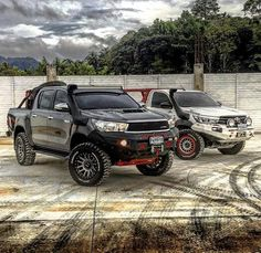 See related links to what you are looking for. Toyota Hilux, Toyota Tacoma, Suv Cars, Sport Cars, Best Off Road Vehicles, 4x4, Truck Camping, Car Tuning, Custom Trucks