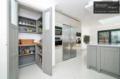 Ruislip, HA4 bespoke handmade kitchen and walk in-pantry