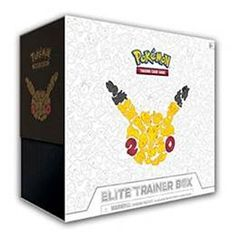 TCG: GENERATIONS ELITE TRAINER BOX CARD GAME // buy now $45.00 Train On with Pokémon TCG: Generations! Celebrate 20 years of Pokémon with the Pokémon TCG: Generations expansion, covering every stage of a Trainer's journey, from the choice of a first partner Pokémon to the most Elite of Trainer battles. Featuring Pikachu, Snorlax, Ninetales-EX, and Jolteon-EX, plus Mega Charizard-EX, Mega Blastoise-EX, and Mega …