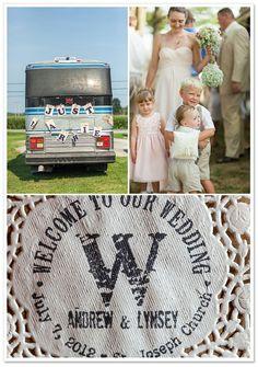 Rustic Barn Wedding by Style & Story Creative on BorrowedandBleu.com