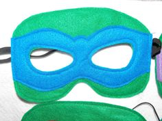 TMNT mask by CapesNCrowns on Etsy