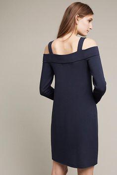 Metro Open-Shoulder Sweatshirt Dress