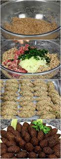 Massa Muito Especial para Kibe Easy Cooking, Cooking Recipes, Healthy Recipes, Great Recipes, Favorite Recipes, Arabian Food, Portuguese Recipes, Mediterranean Recipes, I Love Food