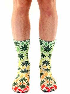 Rasta Mon Crew Socks #InkedShop #socks #crewsocks