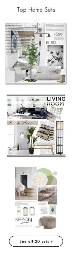 """""""Top Home Sets"""" by canaryarrow ❤ liked on Polyvore featuring Home, design, interior, decor, interiors, interior design, home, home decor, interior decorating and Paul Frank"""