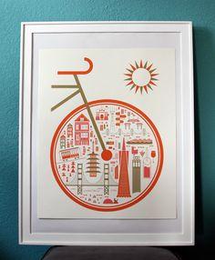 Brent Couchman Design & Illustration - Shop - Around SF - $ 35
