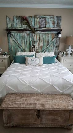 Teal Headboard So Doing This For My Room