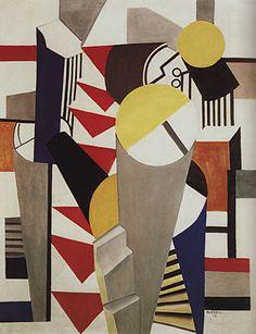 Composition, 1918, Fernand Léger