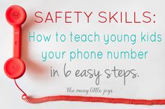 Safety Skills: How t