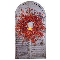 Ohio Wholesale Bittersweet Wreath Shutter Radiance Lighted Wall Art >>> Learn more by visiting the image link. (This is an affiliate link) Shutter Wall Decor, Lighted Wreaths, Wall Canvas, Wall Art, Shine Your Light, Lighted Canvas, Decorating On A Budget, Wall Lights, Farmhouse Style