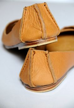 NATIVE Leather ballet flats / womens shoes / flat shoes by BaliELF, via Etsy $90