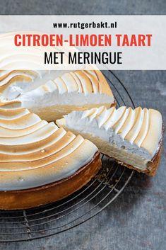 Creme Brulee Cheesecake, Lemon Meringue Cheesecake, Carrot Cake Cheesecake, Cheesecake Recipes, Single Serve Desserts, Easy Desserts, Meringue Recept, Puff And Pie, Easy Tiramisu Recipe