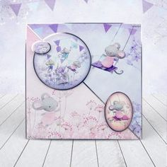 Card created using Hunkydory Crafts' A Mice Adventure Craft Stack Arts And Crafts For Teens, Arts And Crafts Supplies, Kids Cards, Baby Cards, Sand Crafts, Paper Crafts, Kanban Crafts, Hunkydory Crafts, Handmade Birthday Cards