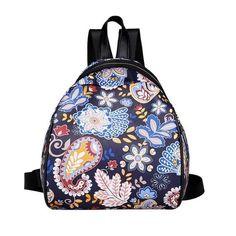 Xiniu woman backpack cartoon backpacks for teenage girls school bags animal pattern small shoulder zipper bags #6M