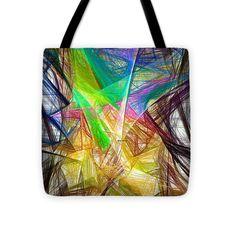 Tote Bag - Abstract 9618