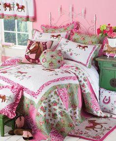 cowgirl bedding | Equestrian Cowgirl Bedding