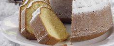 Vanilla Snow Cake Snow Cake, Christmas Desserts, Christmas Recipes, Banana Bread, French Toast, Flora, Vanilla, Sweets, Baking