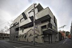 Graffiti + Architecture = Zvi Belling + Prowla.