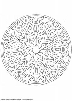 Coloring pages special mandala Picture drawing printable and coloring. Mandala Coloring Pages, Coloring Book Pages, Mandala Design, Mandala Art, Mandela Patterns, Coloring Pages For Grown Ups, Simple Mandala, Zentangle Patterns, Zentangles