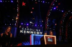 Caroline Kennedy Speaks Out in Support of President Obama