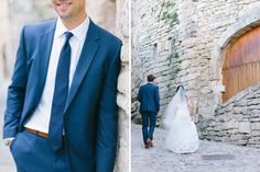 groom's suit details // Wedding photographer in Provence  Village Lacoste, Luberon Valley  Maya Maréchal