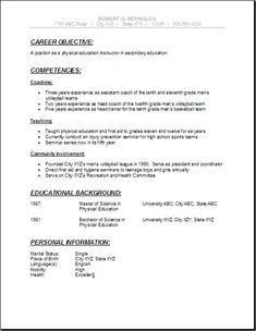 long professional cv resume template ruby pinterest cv resume