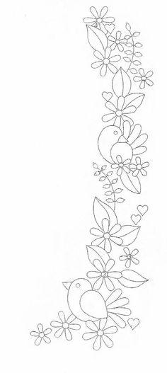 Resultado de imagen para hand embroidery flowers patterns