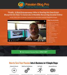 Passion Blog Pro Review