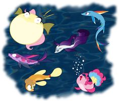 The Fish 6 by grievousfan on DeviantArt My Little Pony Cartoon, Hasbro My Little Pony, My Little Pony Drawing, My Little Pony Pictures, Foster Home For Imaginary Friends, Celestia And Luna, My Little Pony Wallpaper, Little Poni, Unicorn Art