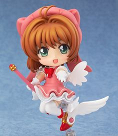Limited-time offer! Get FREE shipping worldwide on pre-order items! The free shipping makes it a great buy! Now is your only chance!   Offer Ends: May 2, 2014  Relive the magic of Cardcaptor Sakura with this Sakura Kinomoto Nendoroid figure! Dressed in one of the most iconic of her many costumes, Sakura is cuter than ever as a super-deformed Nendoroid and comes with a variety of attachments an...