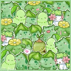Grass Pokemon, the best kind of Pokemon!