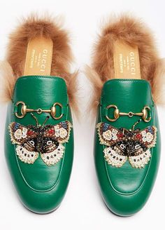 Gucci's new limited edition flats are only available at one store in Paris, so they're sure to sell out immediately. See the beautiful shoes here.