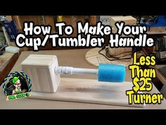 How To Make A Tumbler Turner For Cheap Epoxy Cups Diy