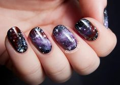 I am obsessed and want this on my nails ASAP.