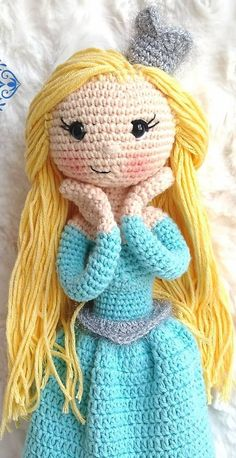 102 Amazing Cute Cartoon Amigurumi Patterns Ideas images - Page 23 of 102 - Best Amigurumi Amigurumi Toys, Amigurumi Patterns, Doll Patterns, Cute Frozen, Elsa Frozen, Pattern Ideas, Free Pattern, Most Popular Cartoons, Crochet Dolls