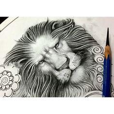 lion design for little tattoos - Pesquisa Google
