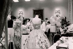 Dolce & Gabbana Haute Couture… the making of. San Domenico Hotel , Taormina Sicily   photo by anna schilling