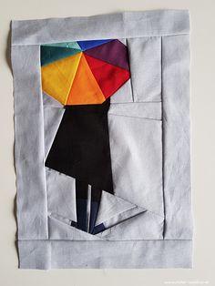 Atelier Waldfee: FPP: Frau mit Regenschirm