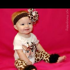 When I have a baby, I'll probably dress her like this...