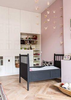 mur rose chambre bianca