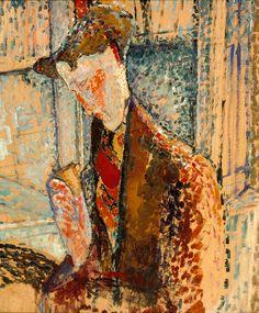Reverie (Study for the Portrait of Frank Burty Haviland)