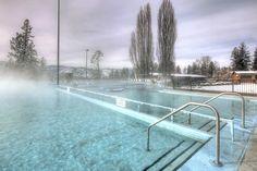Public hot springs #FairmontHotSpringsResort #hotsprings #hotpools #publicpools #destinationbc #tourismbc #BritishColumbia #naturalhotsprings