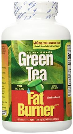 Green Tea Fat Burner 150 Liquid SoftGels Maximum Strength 100 Pure Extract *** Want to know more, click on the image.Note:It is affiliate link to Amazon.