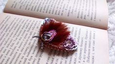 Beautiful  brooch Night moth Butterfly brooch  jewelry insect