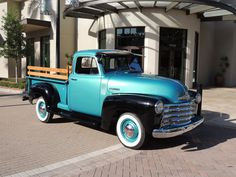 Mike Magden's 1952 Chevrolet pickup is as handsome and classy-looking as almost any luxury car you'll see at any old car show. It wears a beautiful teal-and-black two-tone paint job, has shiny wooden fencing above its perfectly restored box, and the interior is nearly flawless.